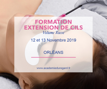 Formation Extension de cils volume
