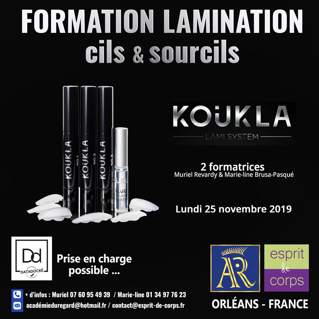 Formation Lamination cils & sourcils